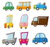 Cartoon car icon. Vector drawing Royalty Free Stock Photography