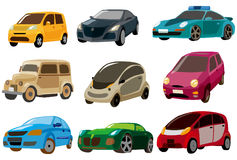 Cartoon car icon Stock Photo