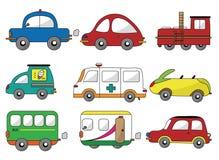 Cartoon car icon Stock Photography