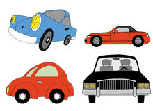 Cartoon car illustration Royalty Free Stock Photography
