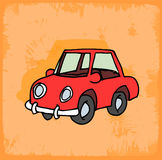 Cartoon car illustration , vector icon. Stock Photos