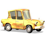Cartoon car No. 19 Stock Images