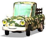 Cartoon car No. 28 Stock Photo