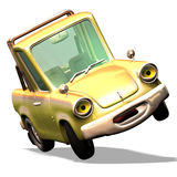 Cartoon car No. 29 Stock Image