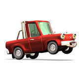 Cartoon car No. 30 Stock Photography