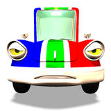 Cartoon car No. 31 Stock Photos