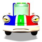 Cartoon car No. 31 Stock Photos