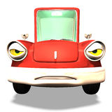 Cartoon car No. 33 Stock Images