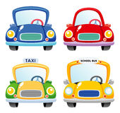 Cartoon Car set royalty free illustration
