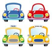 Cartoon Car set Royalty Free Stock Photos