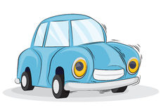 Cartoon car. Vector illustration background Stock Photo
