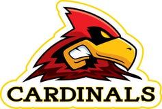 Cartoon Cardinal Mascot Royalty Free Stock Photography