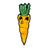 Cartoon carrot Royalty Free Stock Photography