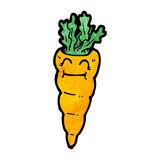 Cartoon carrot Royalty Free Stock Images