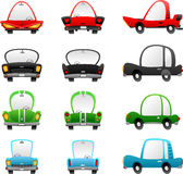 Cartoon cars Stock Photography