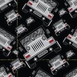 Cartoon cars. Stock Image
