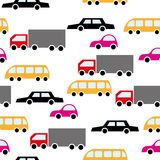 Cartoon cars Royalty Free Stock Photo