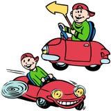 Cartoon Cars Stock Photo