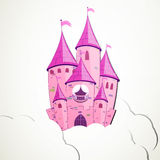Cartoon Castle Royalty Free Stock Photo
