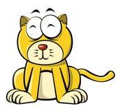 Cartoon cat Stock Images