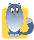 Cartoon cat. Stock Images
