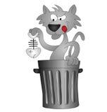 Cartoon cat Royalty Free Stock Photos