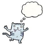 Cartoon cat Royalty Free Stock Image