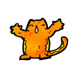 cartoon cat doodle Royalty Free Stock Photos