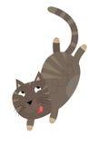 The cartoon cat Stock Images