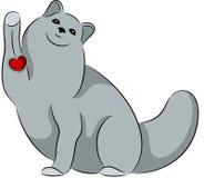 Cartoon cat Stock Photos