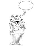 Cartoon Cat Stock Photo