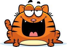 Cartoon Cat Smiling Stock Photography