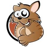 Cartoon cat with thumb up Stock Photos
