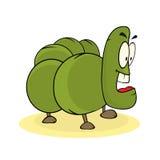 Cartoon caterpillar Stock Photos