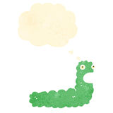 cartoon caterpillar Stock Images