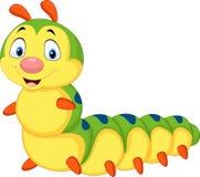Cartoon caterpillar isolated on white background. Illustration of Cartoon caterpillar isolated on white background stock illustration