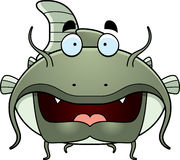 Cartoon Catfish Stock Image