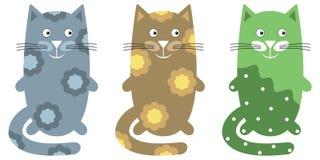 Cartoon cats Royalty Free Stock Photography