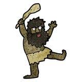 Cartoon cave man Royalty Free Stock Images