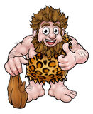 Cartoon Caveman Stock Photo
