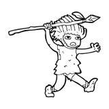 Cartoon caveman Stock Photos