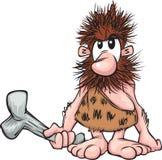 A cartoon caveman Stock Images