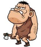 Cartoon caveman. Vector illustration of Cartoon caveman Stock Photography