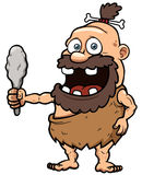 Cartoon caveman Royalty Free Stock Photography