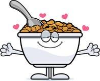 Cartoon Cereal Hug Stock Images