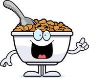 Cartoon Cereal Idea Royalty Free Stock Photography