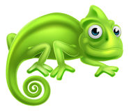 Cartoon Chameleon Royalty Free Stock Image