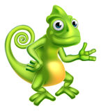 Cartoon Chameleon Stock Photos