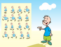 Cartoon Character Stock Image