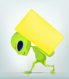 Cartoon_Character_ Royalty Free Stock Photos